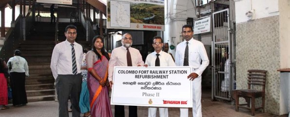 Spends Over 20 Million Annually On Csr Fashion Bug Completes Phase 2 Of Sri Lanka Railways Project