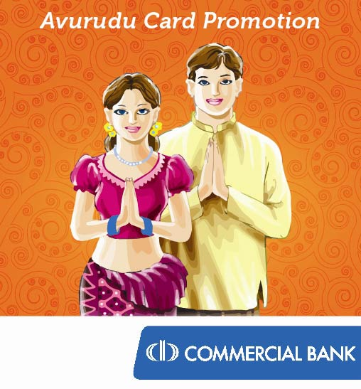 avurudu discounts at 47retailers for commercial bank cardholders