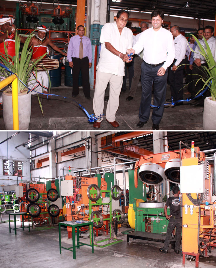 CEAT Kelani Invests In New Advanced Motorcycle Tyre Plant