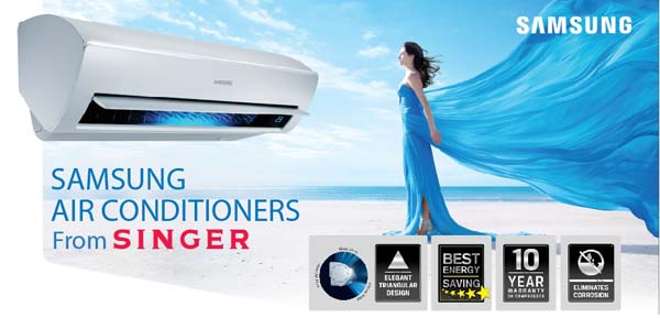 Singer launches latest energy efficient Samsung Inverter ...