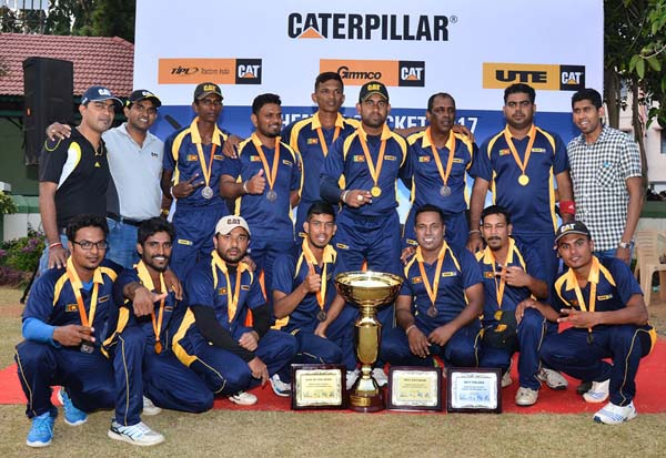 Ute Triumphs At Caterpillar Cricket Tournament For