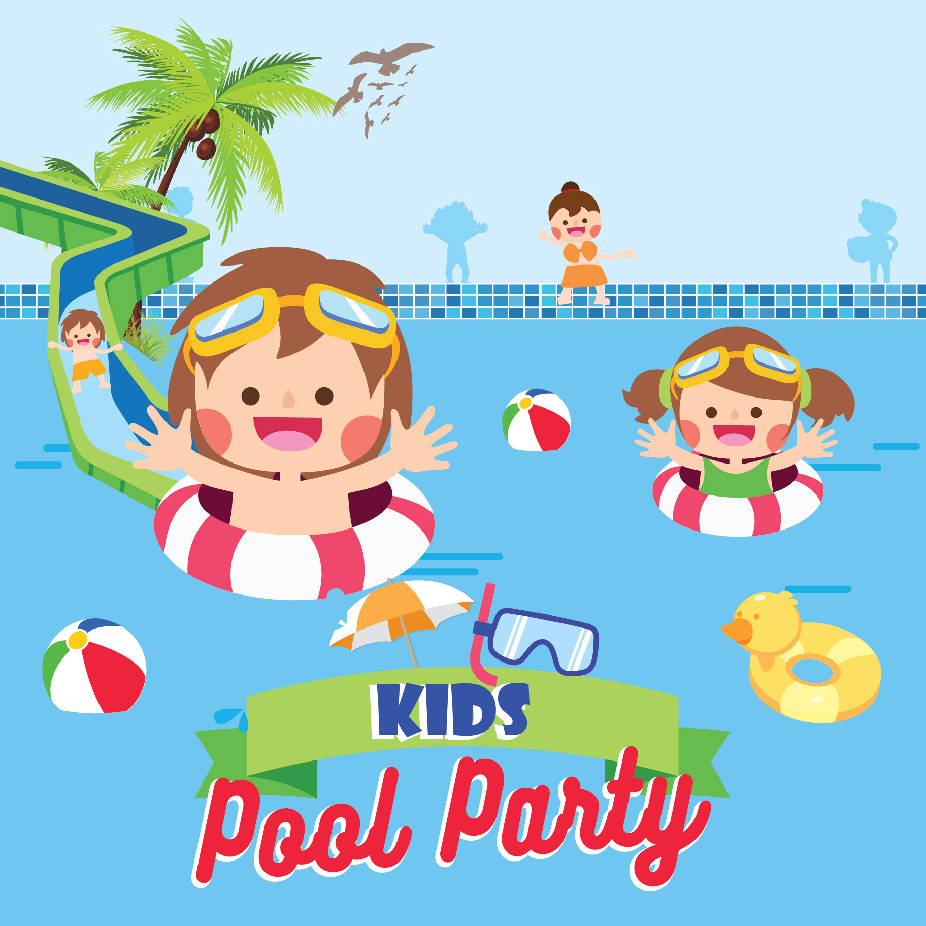 Fun in the Sun at Waters Edge Kid's Pool Party - Ceylon ...