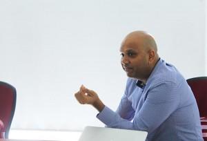 Prajeeth-Balasubramaniam-speaking-at-a-recent-LAN-event
