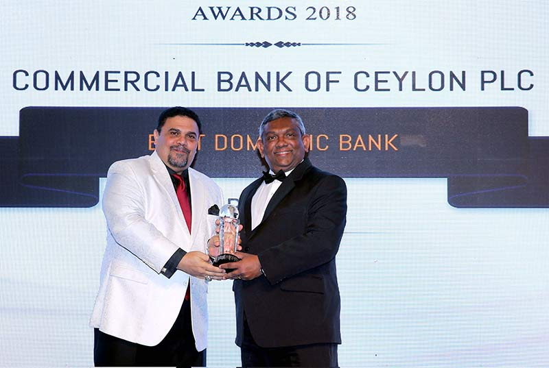 ComBank receives two awards from International Finance - Ceylon