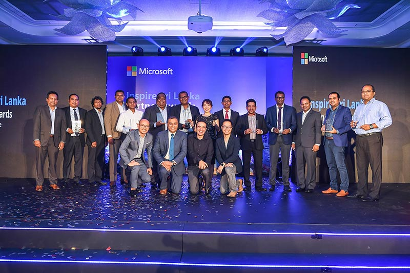 Microsoft holds Inspire Sri Lanka Partner Forum and Awards