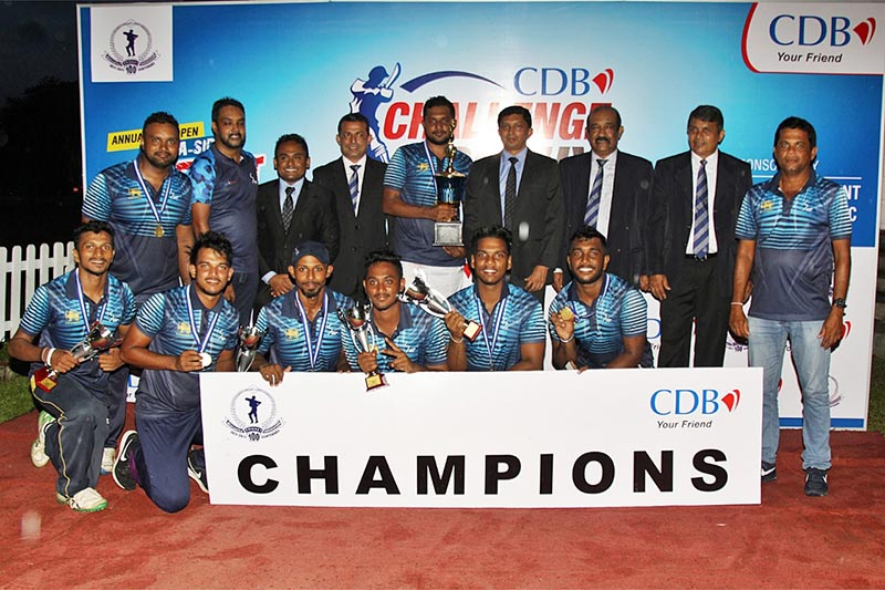 The CDB sponsored MCA Open Cricket Sixes 2019 concludes successfully