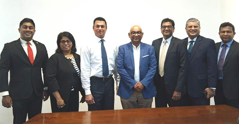 Left to Right : Mr. Lakshan Madurasinghe - Director, Mrs. Gayani De Alwis - Director, Mr. Mahesh Wijewardene - Director, Mr. Chandula Abeywickrema - Chairman,  Mr. Rizvi Zaheed – Vice Chairman, Mr. Rohan Pandithakorralage - Director, Mr. Bandula Nissanka - Director.
