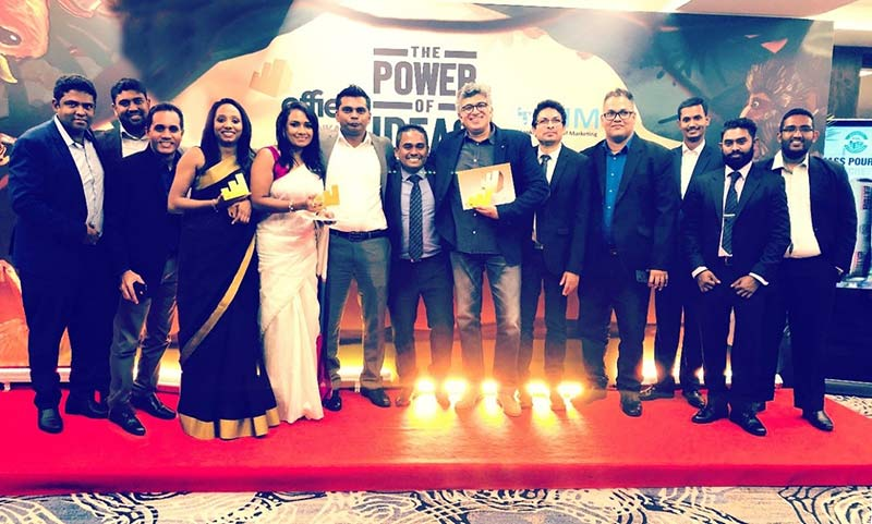 Teams Phoenix Ogilvy and CDB with the Gold Effie in the 'Finance' category
