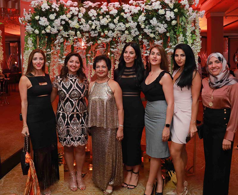 Acaena Amoros, Co-founder, The Elixir Clinic, Dr. Shanika Arsecularatne, Medical Director, Christell Clinic, Prof. Ramani Arsecularatne, Mahi Aramideh, Co-founder, The Elixir Clinic, Banafsheh Salmani, Director of Marketing, The Elixir Clinic, Jacqueline Younis, Wellness Relations Executive, The Elixir Clinic and Dr. Heba Abdelrazak, Medical Director, The Elixir Clinic, Abu Dhabi.
