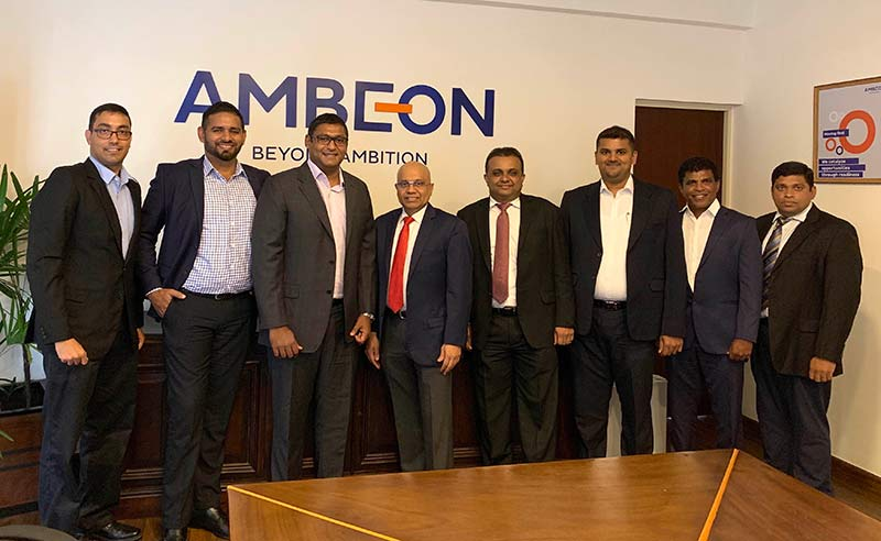Pandula De Silva (Head of Sales & Marketing, EFL 3PL), Leroy Ebert (Chief Growth Officer, EFL 3PL), Sammy Akbar (Director, EFL 3PL), Murali Prakash (Director, MillenniumIT ESP and Group MD/CEO of Ambeon Capital and Ambeon Holdings), Dr. Sajeeva Narangoda (Director/ COO of MillenniumIT ESP and Chief Investment and Process Officer of Ambeon Holdings), Dinuka Perera (Chief Financial Officer of MillenniumIT), Gayantha Perera (Senior Manager - Supply Chain, MillenniumIT ESP), Mahesh Wijenayaka (Head of Systems, Millennium IT ESP)