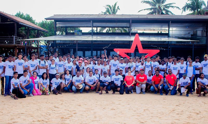 Coca-Cola partners with Rotaract Pearl Island's revolutionary initiative 'Trash Hunt'