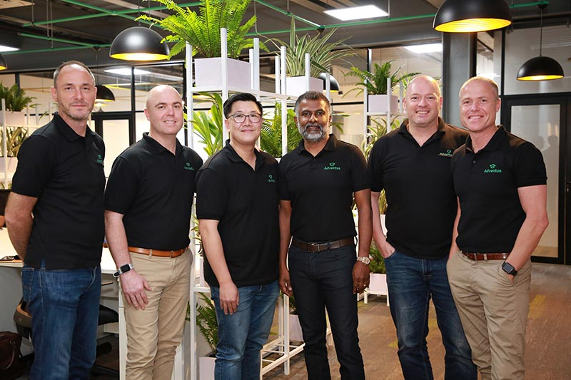 (From Left to right: )  Chris Price - Vice President, Adventus, Lincoln Trainor - Chief Operating Officer, Adventus, David Ter - Group Finance Manager, Adventus, Victor Rajeevan - President, Adventus, Richard Uren - Chief Technical Officer, Adventus and Ryan Trainor - Chief Executive Officer, Adventus.