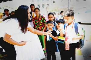 Wickramarachchi Opticians & Hearing Care Celebrates World Children's Day