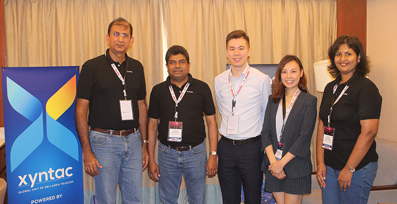 Xyntac: The Global Unit of Sri Lanka Telecom makes waves at the Asian Carriers Conference in Cebu