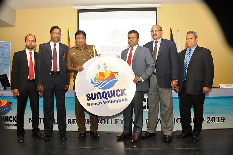 Sunquick National Beach Volleyball Championship 2019 to be held in December at Negombo Beach