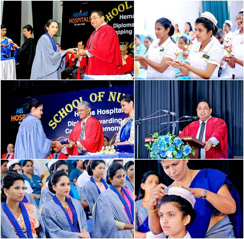 Hemas Hospitals' School of Nursing sees fresh batch graduate at annual capping ceremony