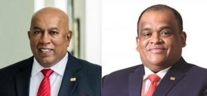 Hayleys PLC Chairman/Chief Executive, Mohan Pandithage and Hayleys PLC Co-Chairman, Dhammika Perera