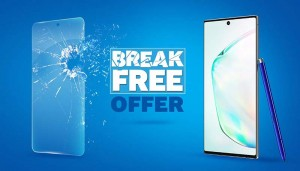 Samsung brings back the exciting 'Break Free' offer on the Galaxy Note10|10+ & Galaxy A80