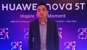 Huawei Devices Sri Lanka Country Head Peter Liu