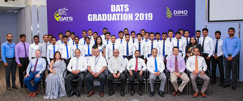 DATS graduates and staff with DIMO Management