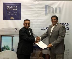 From Left:  Kaushalya Nawaratne Attorney at Law- Secretary of the Bar Association of Sri Lanka, Shivanka De Zoysa, Director Marketing of Marina Square Uptown Colombo.
