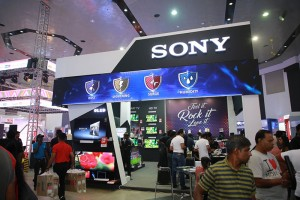 Sony stall lights up Singer Lifestyle Fiesta