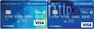 ComBank launches Pre-paid Spend Card and Pre-paid Web Card with online top-up facility