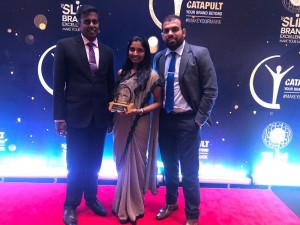 CIPM representatives with the award at the ceremony