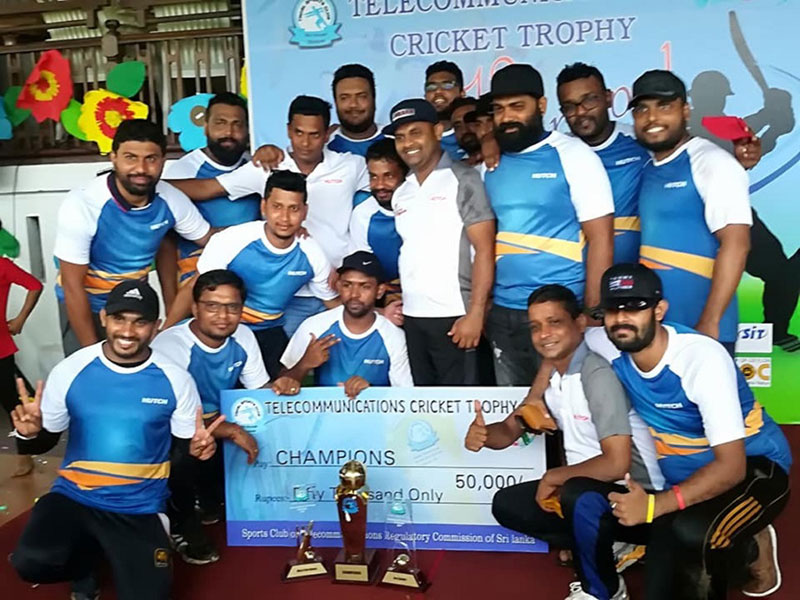 HUTCH Crowned Champions at the Telecommunications Cricket Trophy Championship 2019
