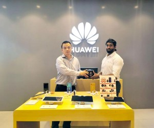 Huawei opens sale of New Wearable Products at One Galle Face Huawei Experience Store