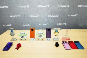 "Huawei FreeBuds 3 and Huawei Watch GT 2 Wins ""Best of CES 2020"" Award and ""Editor's Choice"" Award"