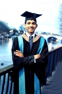 1.Seen here is Dinith Ranaweera, a first-class degree graduate from ESOFT who is now reading for his PhD at Kingston University London