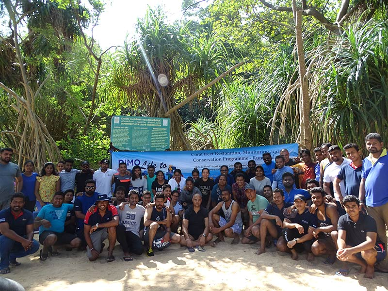 DIMO members at the Life to Reef Season 3