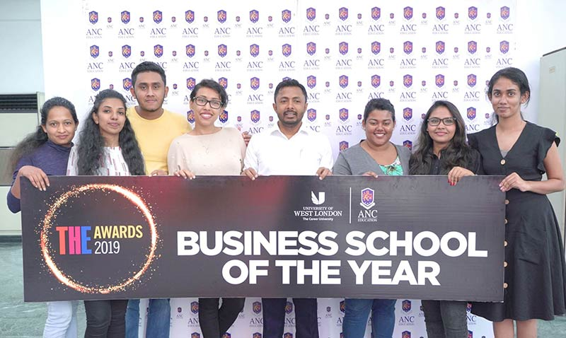 """ANC offers ambitious professionals access to Executive MBAs from the University of West London – """"The Business School of the Year, UK"""""""