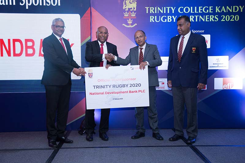 NDB Becomes the Official Team Sponsor of Trinity Rugby 2020 as well as the Official Sponsor for the 76th Bradby Shield