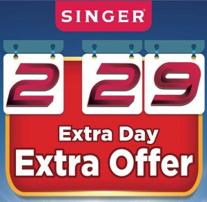 Unique 2.29 Offers from Singer