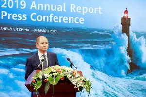 Huawei revenue up 19.1% year-on-year to US $ 123 Bn in 2019