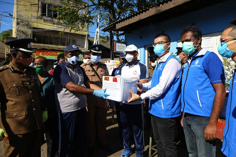 Port City Colombo provides over Rs. 6 mn worth protective gear to personnel in essential services amid COVID-19 outbreak