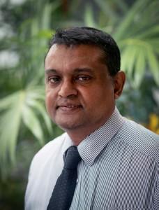 Dr. Palitha Karunapema - Director of the Health Promotion Bureau