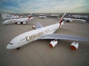 Emirates parks its aircraft after strictly following manufacturers' guidelines and maintenance manuals, and with enhanced standards and protocols of its own.