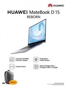 Huawei enters laptop segment launching  Huawei MateBook D 15 in Sri Lanka