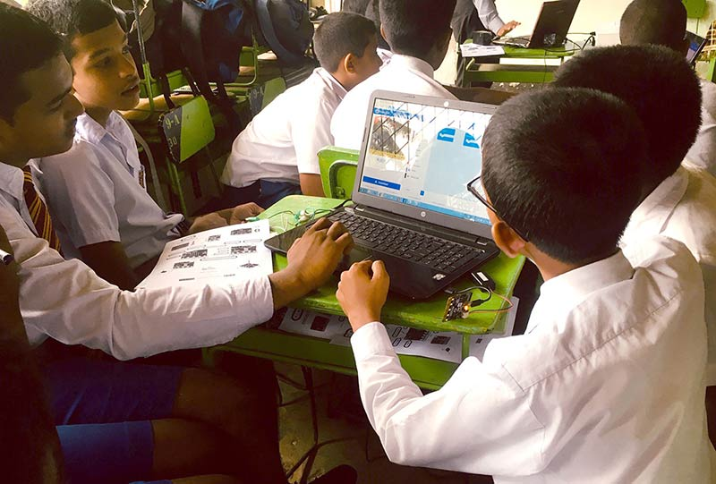 ComBank support to STEMup project helps set up Coding Clubs in 50 schools