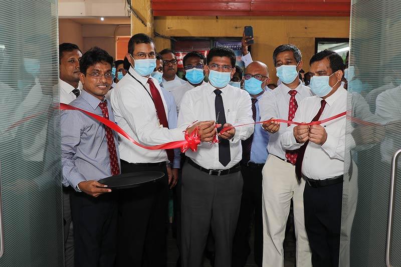 Seylan Bank Sponsors A Newly Refurbished Doctors Cafeteria to The National Hospital of Sri Lanka