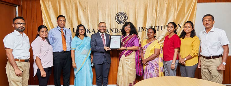"""Serendib Flour Mills receives the SLS 1672:2020 """"COVID-19 Safety Management Systems"""" certification from the Sri Lanka Standards Institution (SLSI) for its mill facility in line with the company's unhesitant commitment to uphold the highest standard of quality and safety"""
