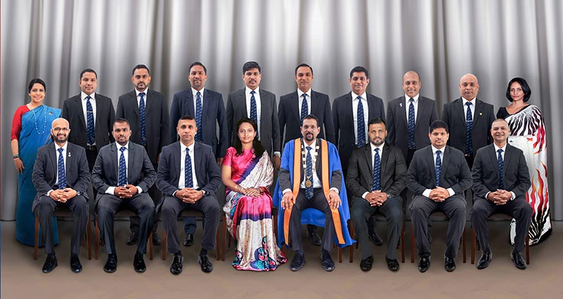 New Council of Management and Executive Committee