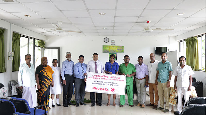 Dr. Mrs. KanchanaAbeywickrama – DMO, Dr. ShanthaDharmasena,Mr. UdeniShantha – Medical Record Assistant, MallikaRajapaksha- Nurse Superintendent , Mrs. DMI Malkanthi- Minor Staff In-charge of Badalkumbura Base Hospital.