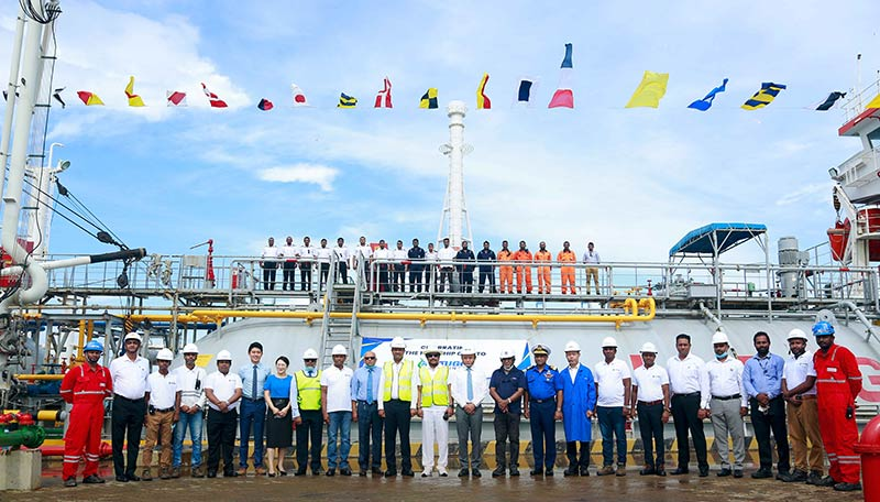 LAUGFS Terminals Complex at Hambantota International Port Celebrates 100th Ship Call