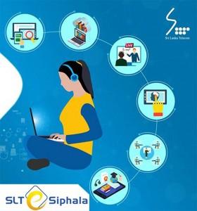 """""""SLT eSiphala"""" by Sri Lanka Telecom PLC gives enhanced facilities for e-learning"""