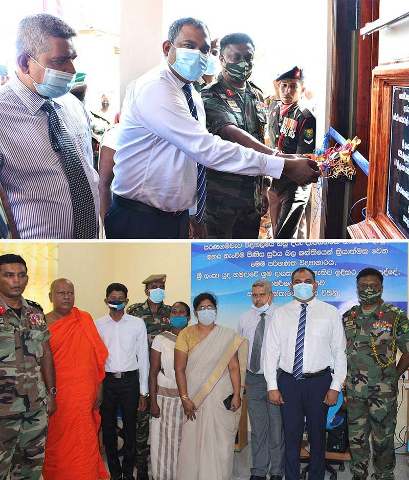 Welioya School receives IT Lab via ComBank and Sri Lanka Army initiative