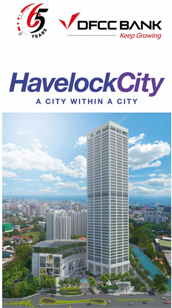 DFCC Bank partners Havelock City, to finance the Commercial Development.